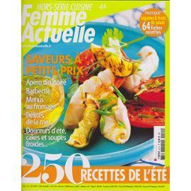 Femme actuelle hors-série cuisine via priceminister.com