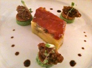 Foie gras dans sa gangue de graisse © Blandine Vié