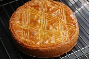 Gâteau basque via lebloggourmand.com