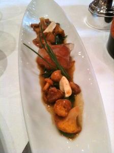 Girolles étuvées à l'abricot © Blandine Vié