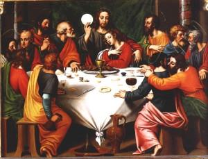 La Cène de Vinci via t3m.voila.net
