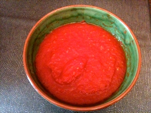 Purée de tomates © Blandine Vié