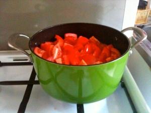 Tomates coupées © Blandine Vié
