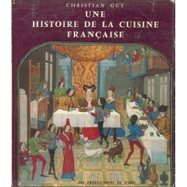 Une histoire de la cuisine française via priceminister.com