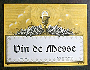 Vin de messe via ecologyandchurches.wordpress.com