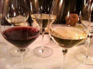 Vin rouge vin blanc © Blandine Vié