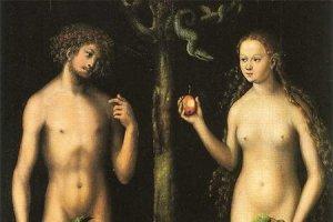 Adam et Ève par Cranach via carpewebem.fr