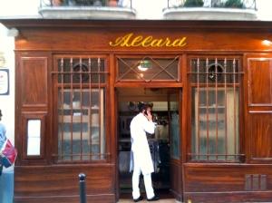 Allard et la nouvelle chef © Blandine Vié