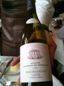 Bourgogne Louise 2011 domaine Chandon de Briailles © Blandine Vié