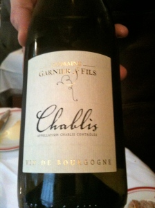Chablis Garnier & Fils © Blandine Vié