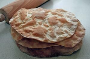 Galettes de pain azyme maison via tf79.ch