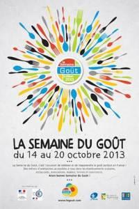 La semaine du goût 2013