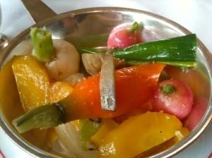 Légumes du turbot © Blandine Vié
