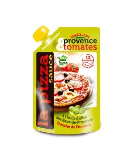 Mega gourde facing PIZZA
