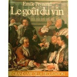 Peynaud-Emile-Le-Gout-Du-Vin- via priceminister.com