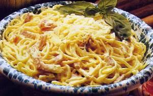 Spaghetti carbonara via qcclick.com