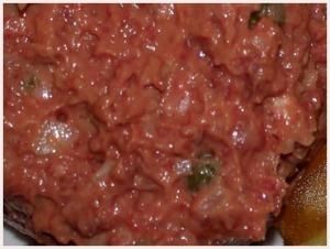 Steak tartare de bœuf via viande.com