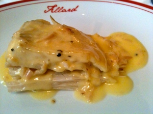 Turbot beurre lanc © Blandine Vié