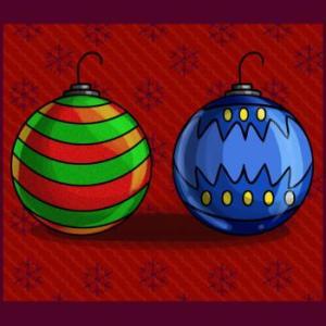 Boules de Noël via allodessin.com