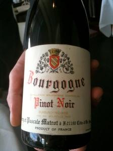 Bourgogne Pinot noir © Blandine Vié