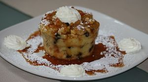 Bread pudding via answers.com