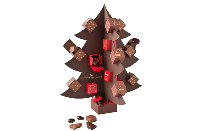 Calendrier de l'Avent de la Maison du Chocolat