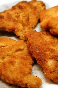 Escalopes milanaises bien dorées via cookingmumu.com