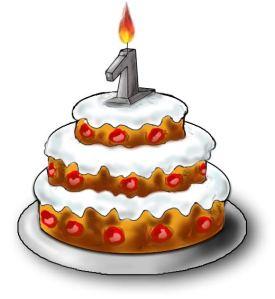 Gâteau 1 an via passion-locatif.com
