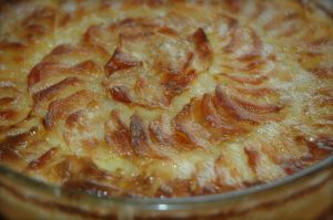Gratin dauphinois via kitchencupboard.canalblog.com