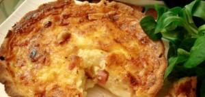 Quiche lorraine via cuisine-francaise.org