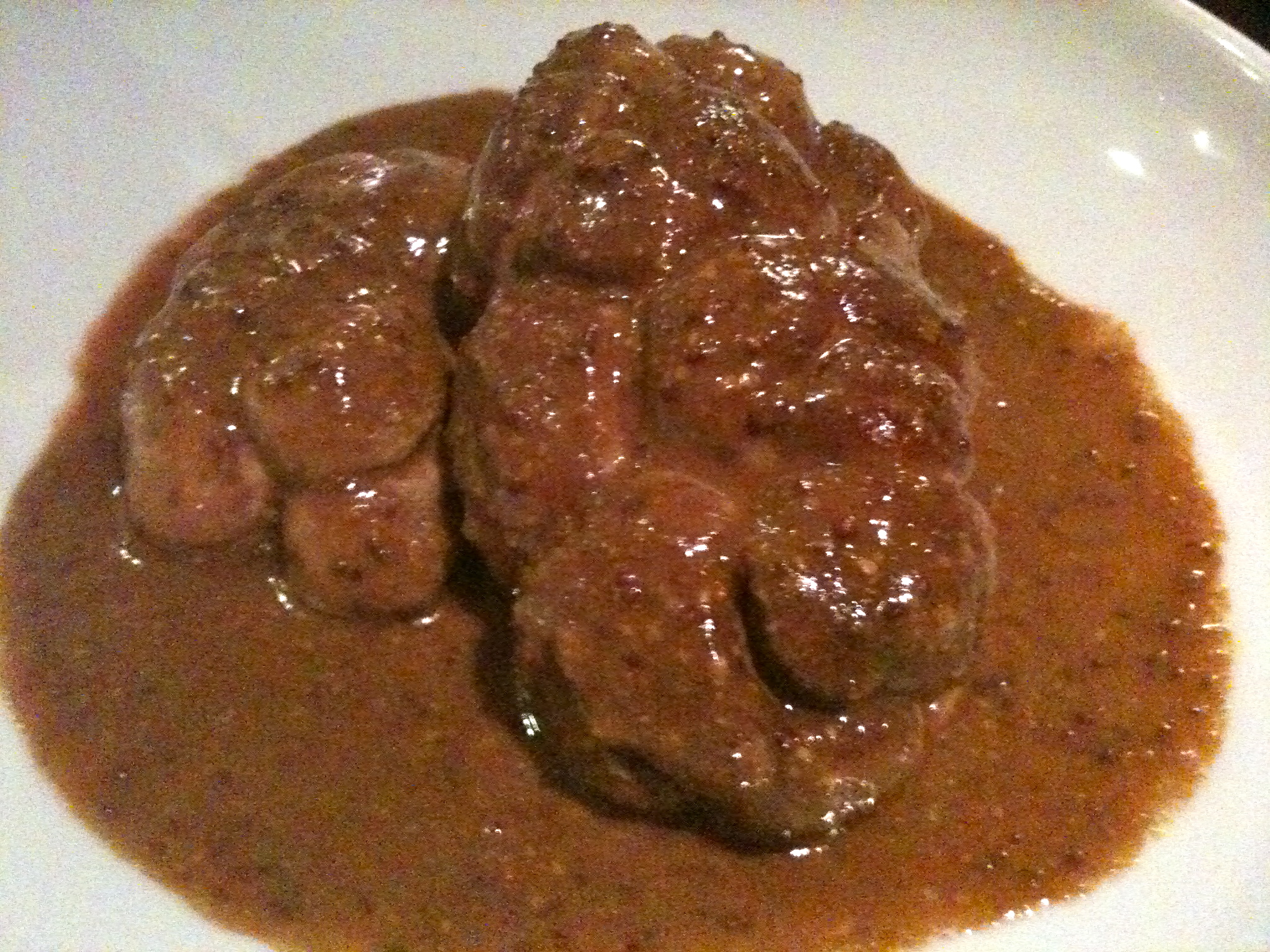 Rognon de b uf entier sauce moutarde - Rognons de veau a la creme ...