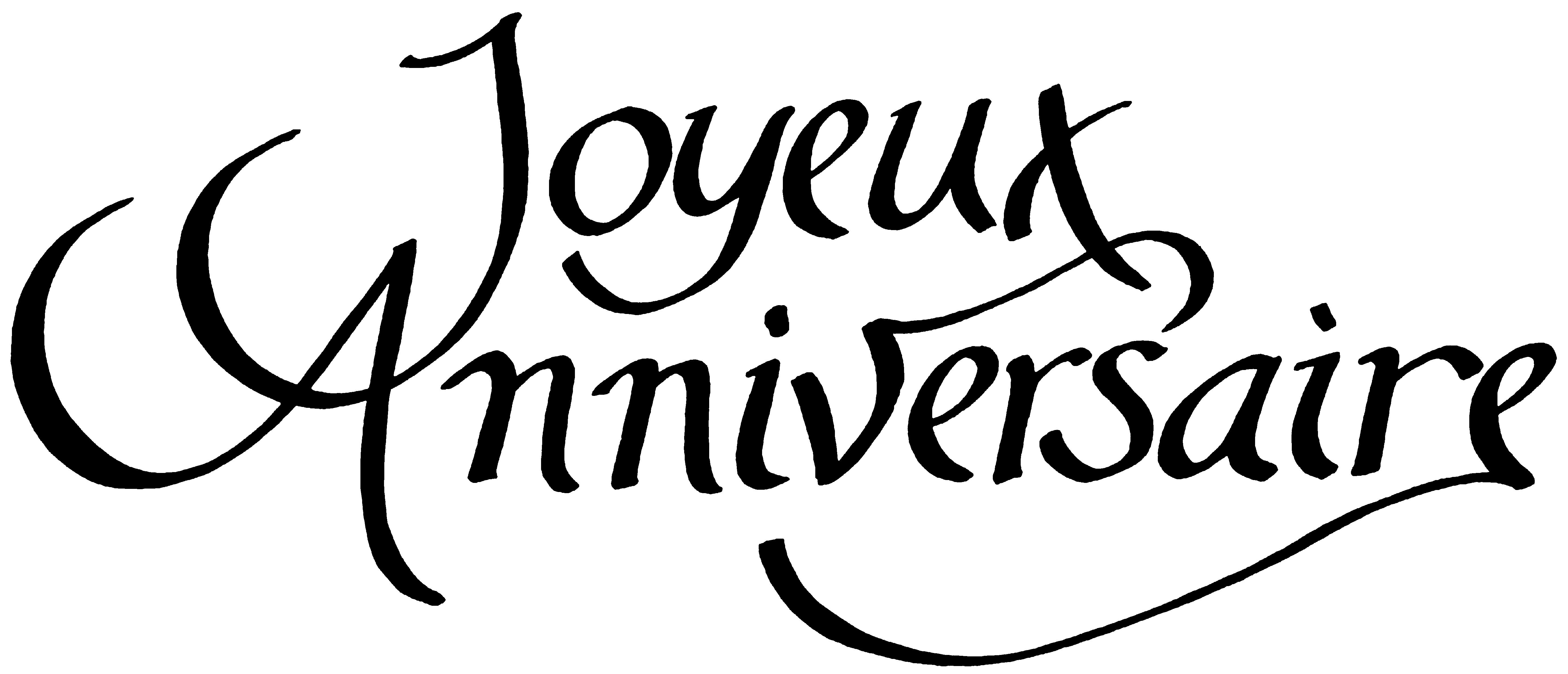 Carte Anniversaire Noir Et Blanc.Joyeux Anniversaire A Vous Tous Amies Amis