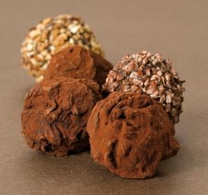 Truffes au chocolat © Mon chocolat à cuisiner Monbana