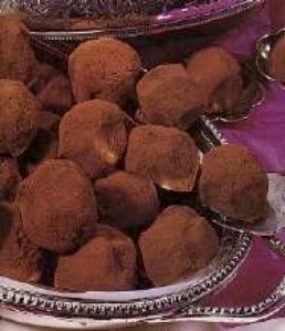 Truffes au chocolat via cuisine.journaldesfemmes.com
