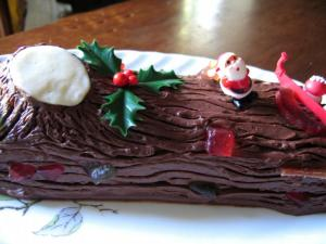Bûche de Noël via arcus.centerblog.net