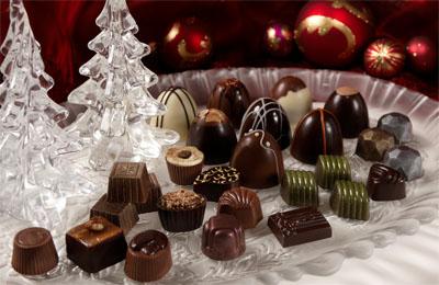 Chocolats de Noël via qcclick.com