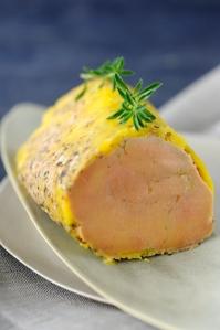 Foie gras au micro-ondes Yves Camdeborde © Marianne Paquin