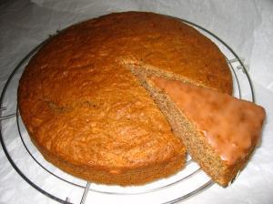Gâteau aux carottes via stationgourmande.canalblog.com