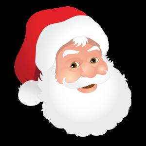 Père Noël via francestickers.com