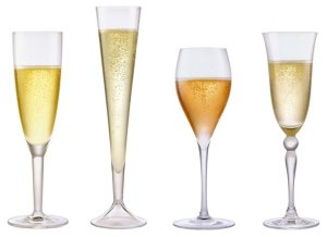 Verres à champagne via champagne.fr