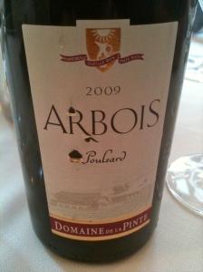 Arbois Poulsard 209 Domaine de la Pinte