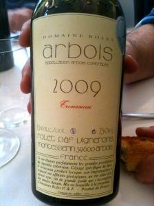 Arbois Trousseau Rolet 2009 © Blandine Vié