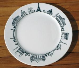 Assiette avec marli via deco.plurielles.fr
