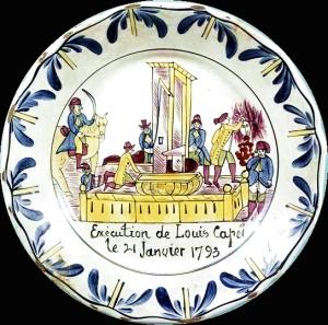 Assiette Exécution de Louis Capet via fr.wikipedia.fr