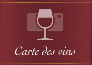 Carte des vins via winesup.fr