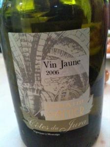 Côtes du Jura vin jaune Domaine de Pignier 2006