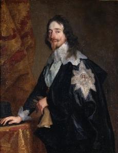 Charles 1e d'Angleterre par Van Dyck via toutpourlesfemmes.com