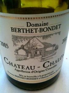 Château-Chalon 2005 © Domaine Berthet-Bondet © Blandine Vié