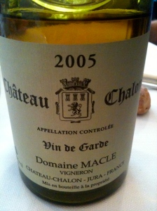 Château Chalon Domaine Macle 2005 CBlandine Vié