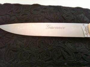 Couteau Garance © Blandine Vié